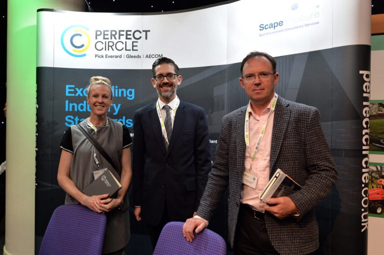 Perfect Circle Partnered Networking Event in Scotland at the EICC