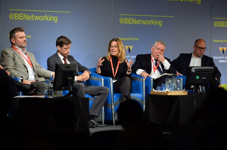 Rose Jenkins speaks at Scotland Development Conference