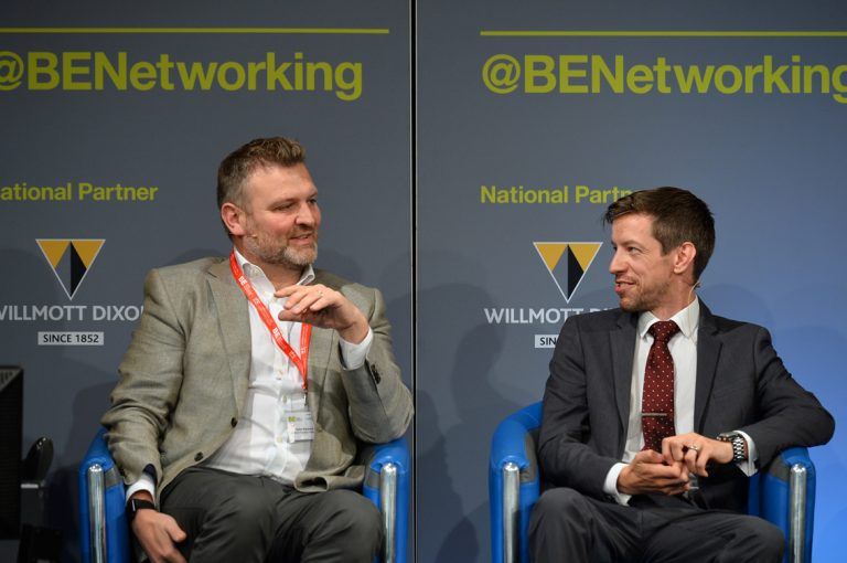 Robin Blacklock and John Alexander take questions at Scotland Development Conference
