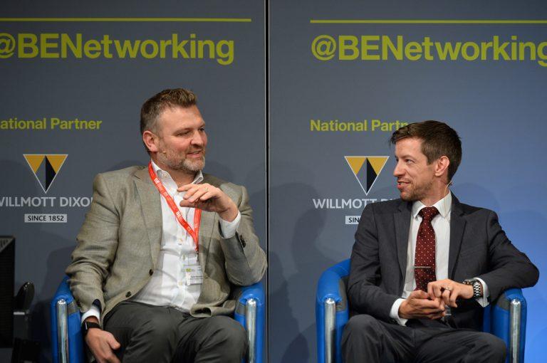Robin Blacklock and John Alexander take questions at Scotland Development Conference