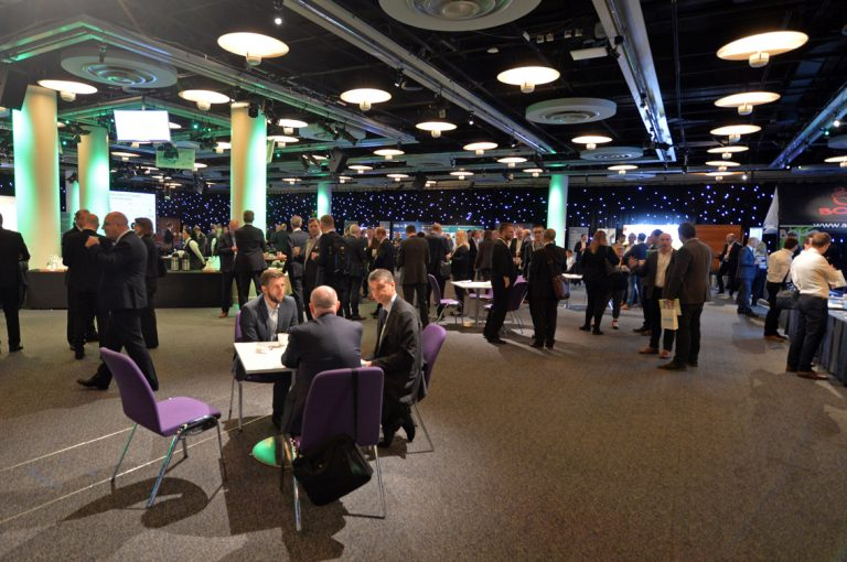 The networking area for Built Environment Networkings Scotland Development Conference 2019