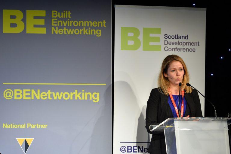 Kat Feldinger of Scottish Government at Scotland Development Conference 2019