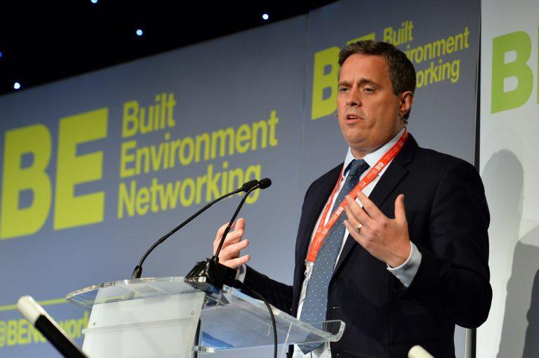Leon MacPhearson of Barclays speaking at Scotland Development Conference