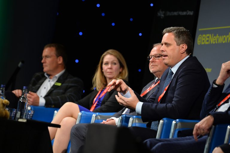 The Panel discusses the future investment of scotland at Scotland Development Conference