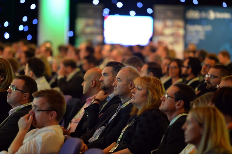 The attendee's at Scotland Development Conference