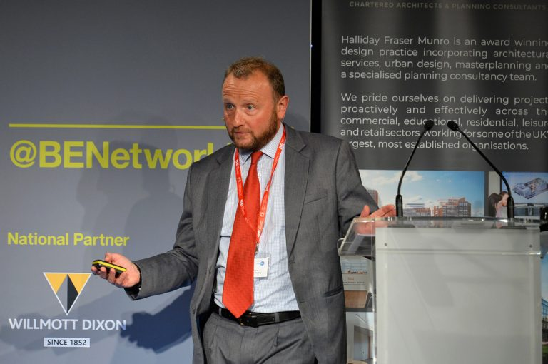 David Peck of Buccleuch Property speaks at Scotland Development Conference 2019