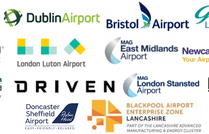 Airports Development Logos