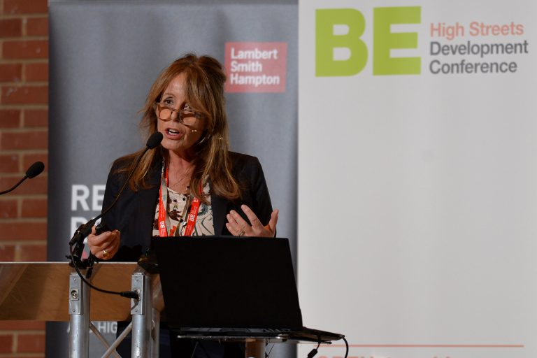 Catherine Faulks of the Royal Borough of Kensington and Chelsea High Streets Development Conference. 30.10.19