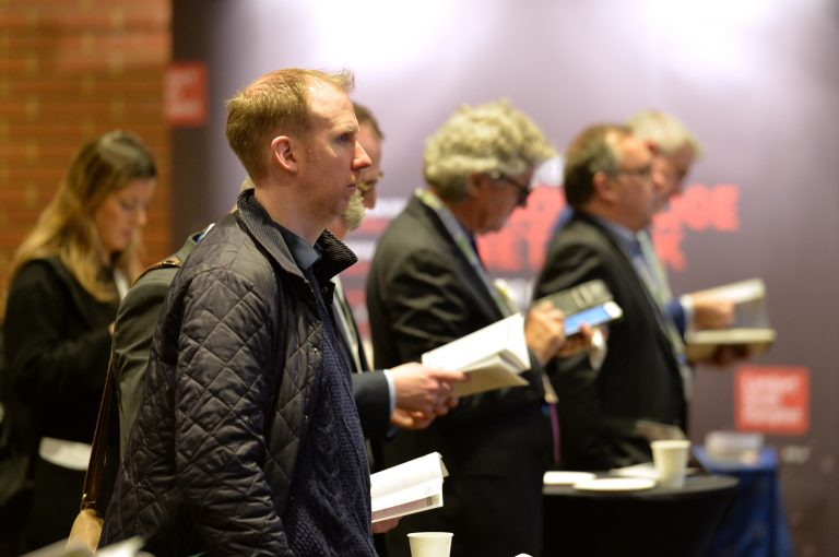 Networking in the Kensington Town HallHigh Streets Development Conference. 30.10.19
