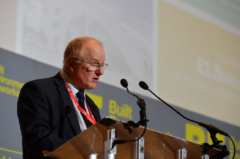 Gerry Brough of Bolton Council High Streets Development Conference. 30.10.19
