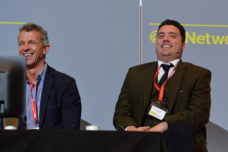 Phil Mayall and Steve Turner High Streets Development Conference. 30.10.19