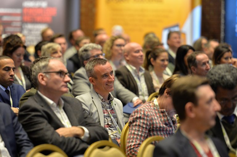Attendee's Seated watching the presentations at High Streets Development Conference. 30.10.19