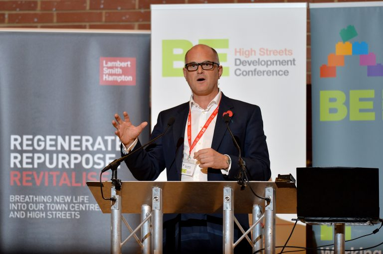 Mark Williams RivingtonHark at High Streets Development Conference. 30.10.19