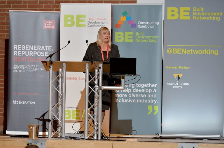 Angela Blake of Kirklees Council High Streets Development Conference. 30.10.19