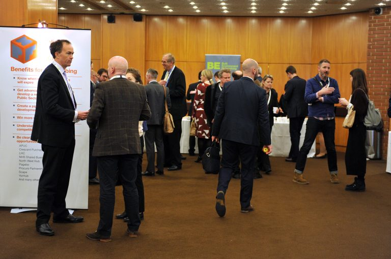 Networking in London for the Construction Industry High Streets Development Conference. 30.10.19