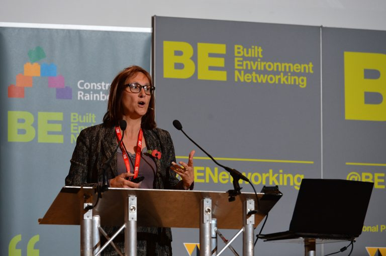 Sarah Norman of Barnsley Council High Streets Development Conference. 30.10.19