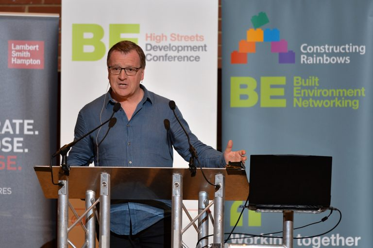 Paul Sargent of Queenberry High Streets Development Conference. 30.10.19