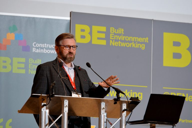 Mark Barrow of Shropshire Council High Streets Development Conference. 30.10.19