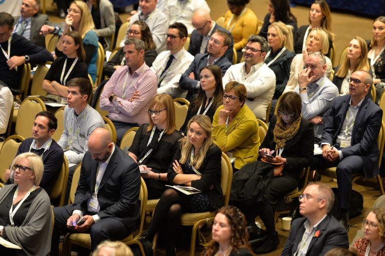 Attendee's seated and ready for the day High Streets Development Conference. 30.10.19