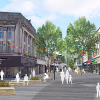 Huddersfield Town Centre £250 Masterplan