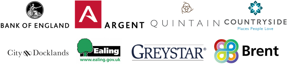 Greystar Ealing Argent Quintain Bank England