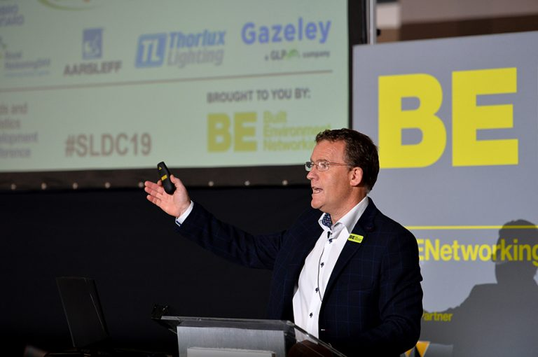 Phil Laycock At Sheds and Logistics 2019