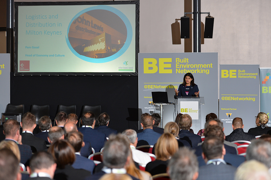 Pam Gosal at Sheds and Logistics conference 2019