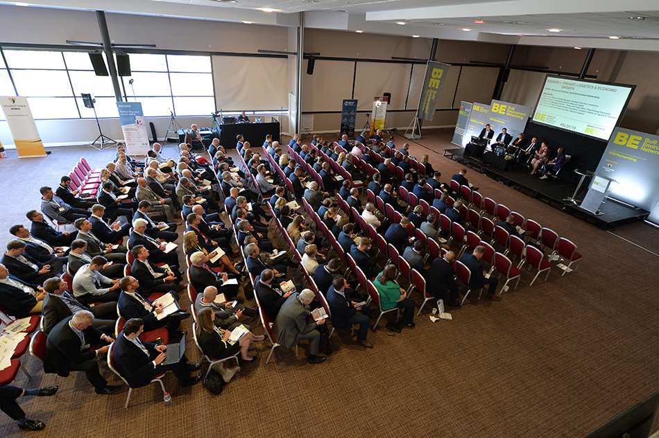 The room at Sheds and Logistics Conference 2019