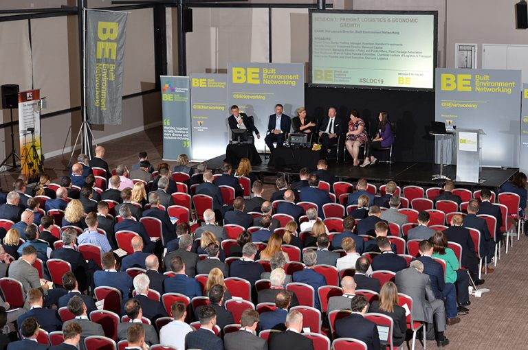 The Freight, Logistics & economic growth panel at Sheds and Logistics Conference 2019