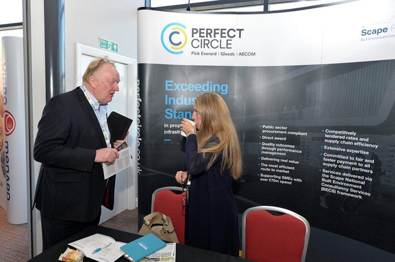 Perfect Circle Partnered networking at Stadium MK