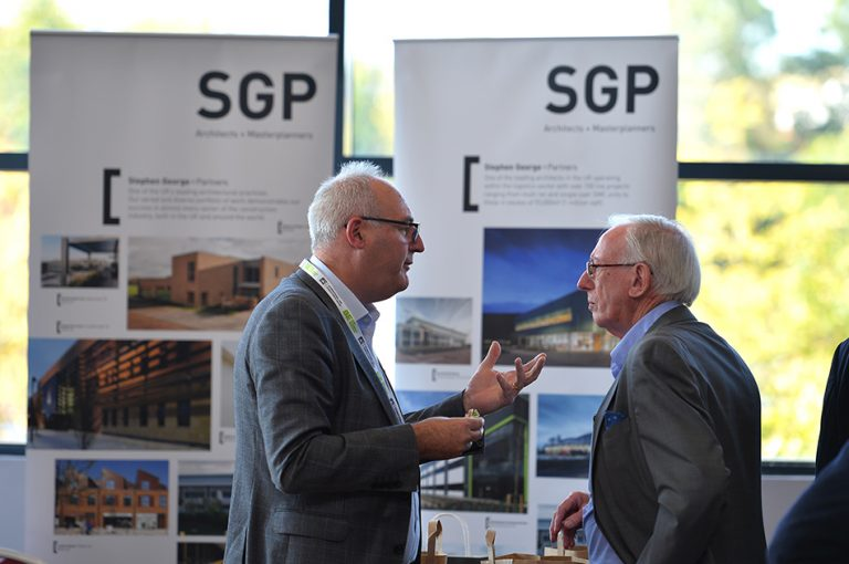 SGP Partnered networking in MK Dons Stadium