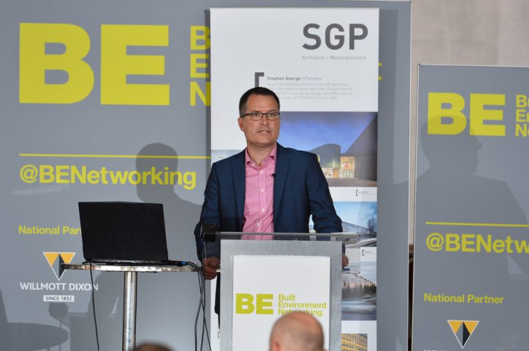James Nicholls of SGP at Sheds and Logistics 2019