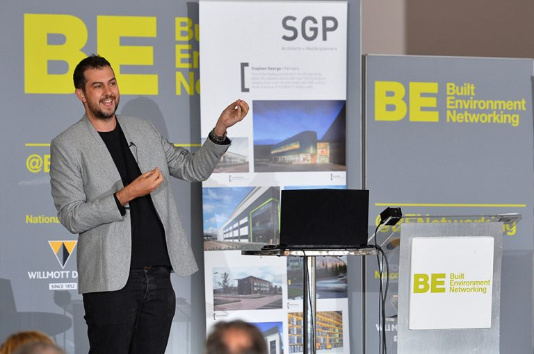 SGP Partnered Panel at Sheds and Logistics with Daniel Hulme Presenting