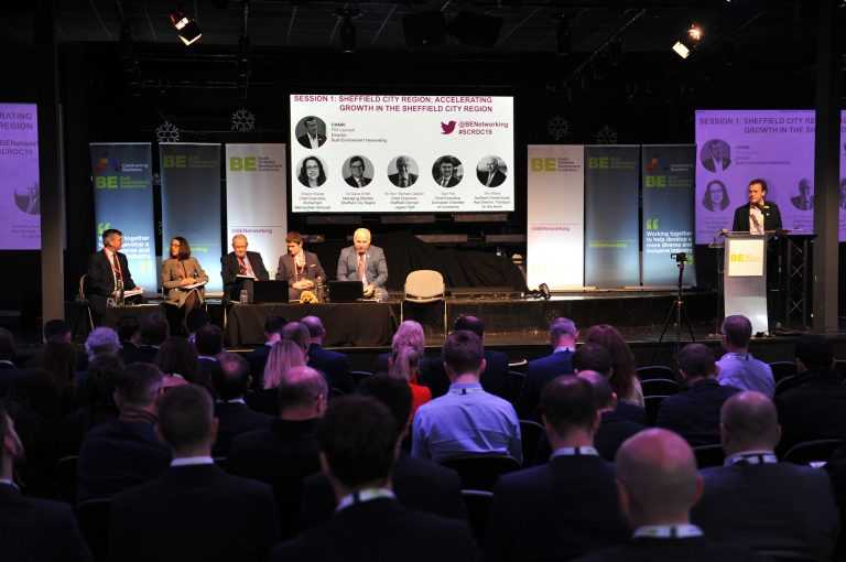 The first panel of the day Accelerating Growth in the Sheffield City Region