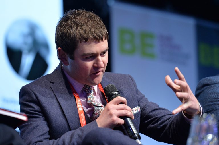 Dan Fell of Doncaster Chamber of Commerce Speaking at Sheffield City Region Development Conference