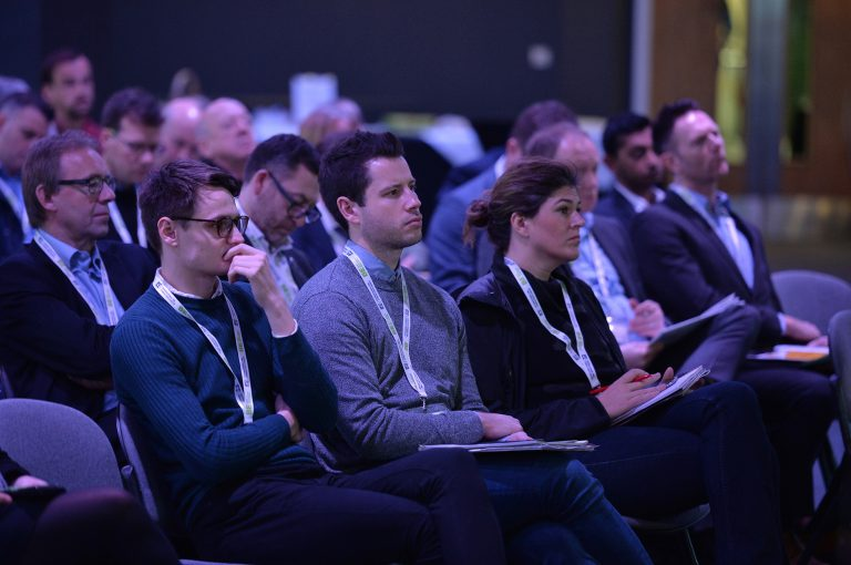 Attendee's seated ready for the conference at Sheffield