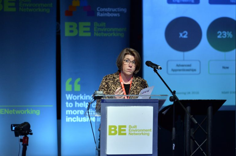 Clair Mowbray of National College for Advanced Transport & Infrastructure