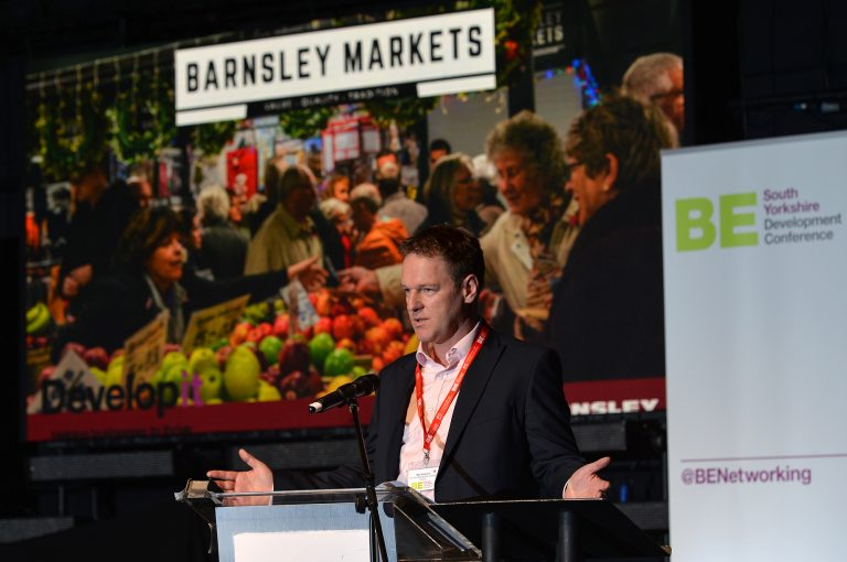 Matt Gladstone of Barnsley Metropolitan Council
