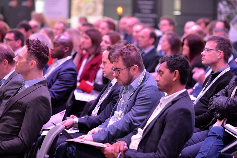 Attendee's seated for the Final Panel at Sheffield City Region Development Conference
