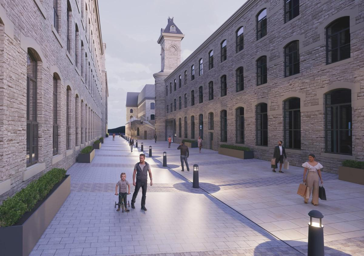 The Northlight Development at Brierfield Mill (copyright PEARL)
