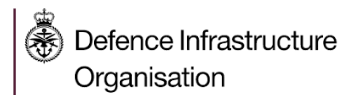 Defence Infrastructure Organisation Logo