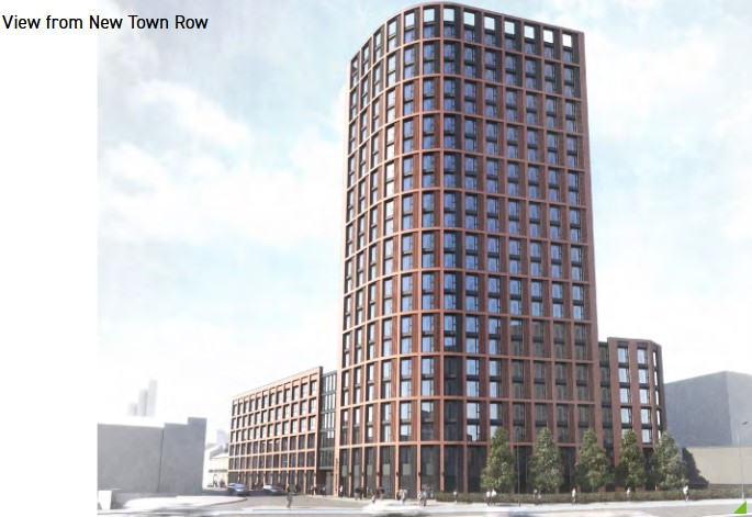 Taylor Grange Gun Quarter Birmingham apartments