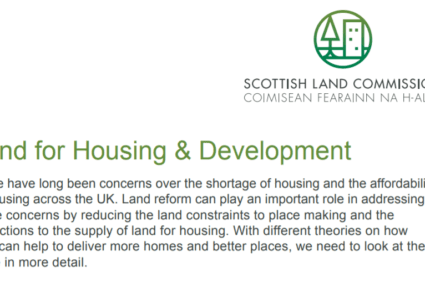 scottish land commission paper