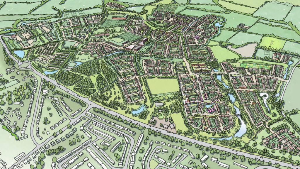 Oxfordshire Grosvenor Garden Village